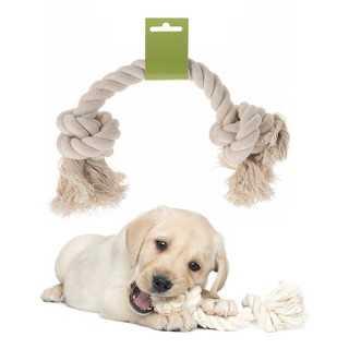 Σχοινάκι με Διπλό Κόμπο Για Σκυλιά